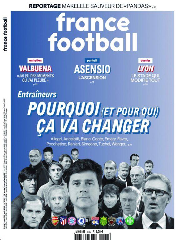 France Football – 10 Avril 2018