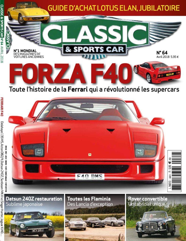 classic sports car france mars 2018 t l charger pdf magazine gratuitement. Black Bedroom Furniture Sets. Home Design Ideas