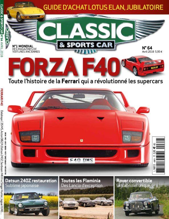 Classic & Sports Car France – Mars 2018