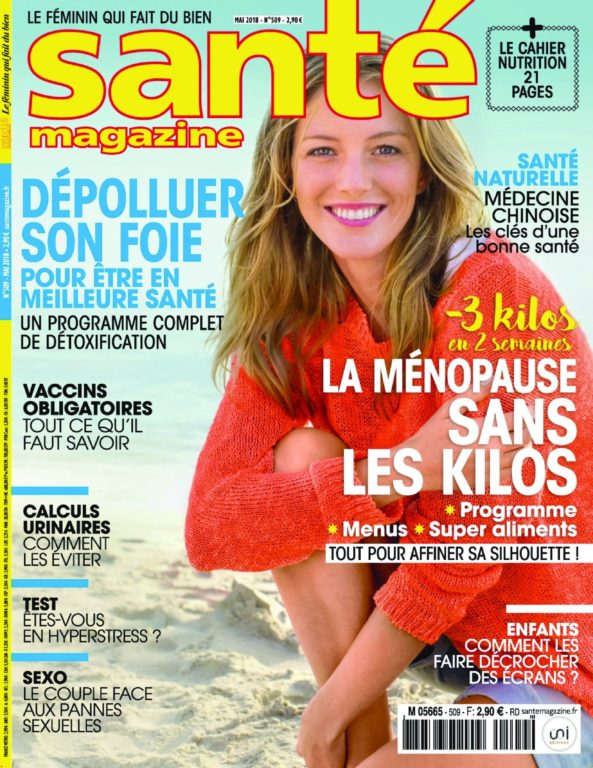 Santé Magazine – 29 Mars 2018