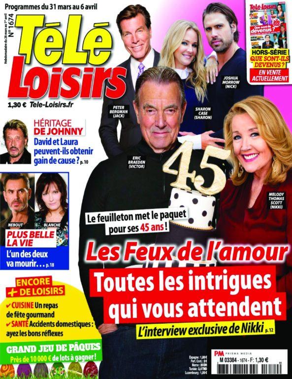 Télé Loisirs – 26 Mars 2018