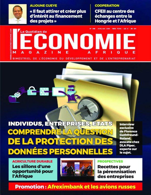 Le Quotidien De L'économie Magazine Afrique – 26 Avril 2018