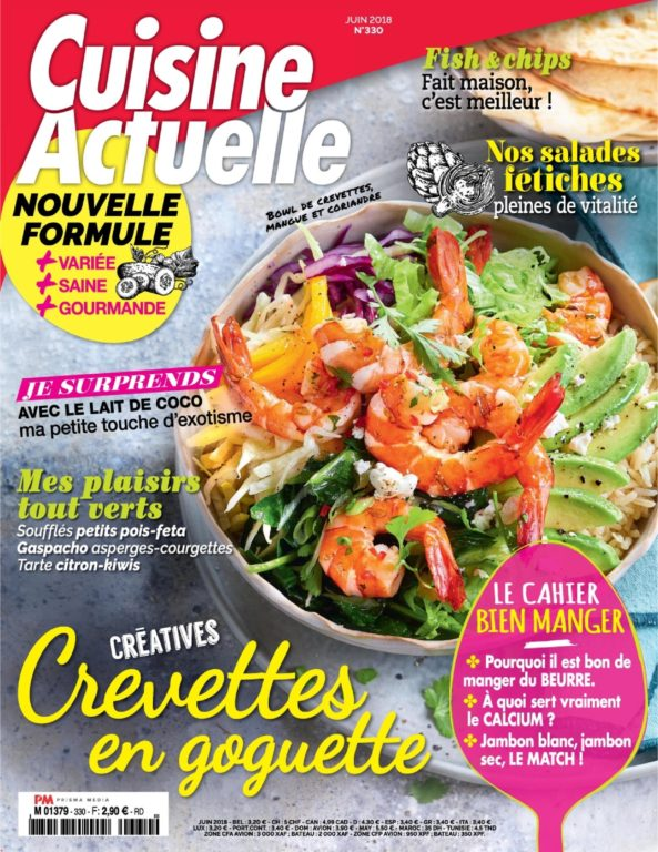 Cuisine Actuelle – Mai 2018