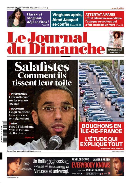 Le Journal Du Dimanche – 13 Mai 2018