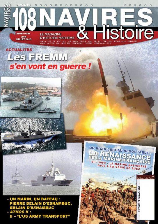 Navires & Histoire – Juin-juillet 2018