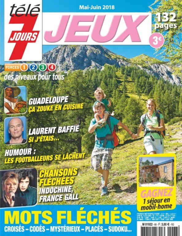 Télé 7 Jours Jeux – Juin-juillet 2018