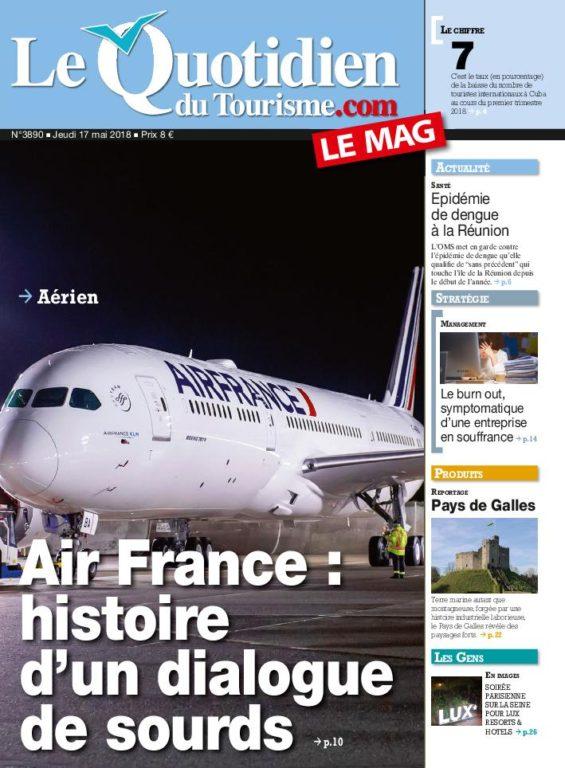 Le Quotidien Du Tourisme – 17 Mai 2018