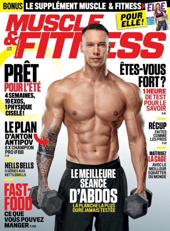 Muscle & Fitness France – Juin 2018
