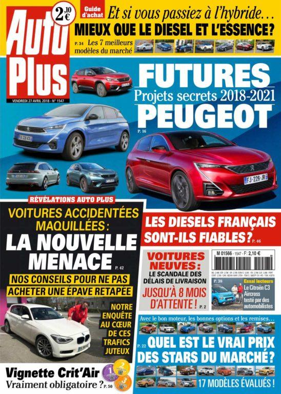 Auto Plus France – 27 Avril 2018