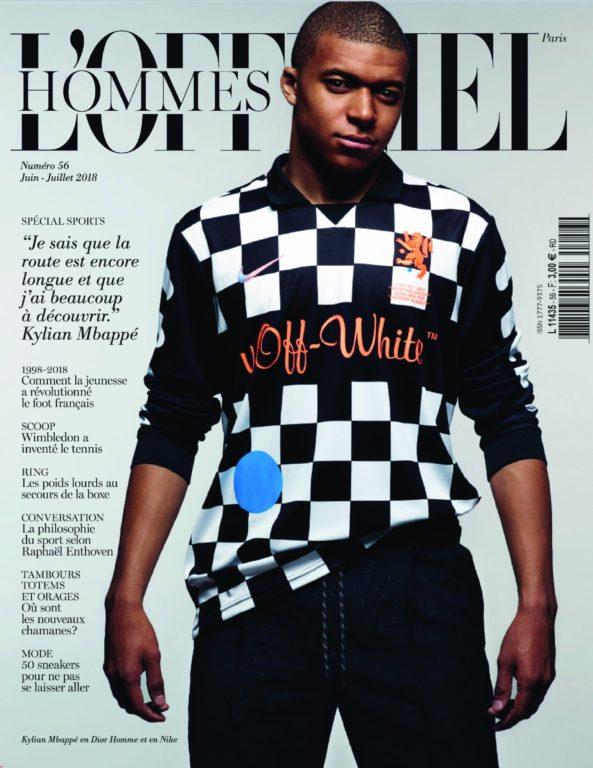 L'Officiel Hommes Paris – Mai 2018