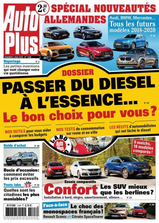 Auto Plus France – 04 Mai 2018