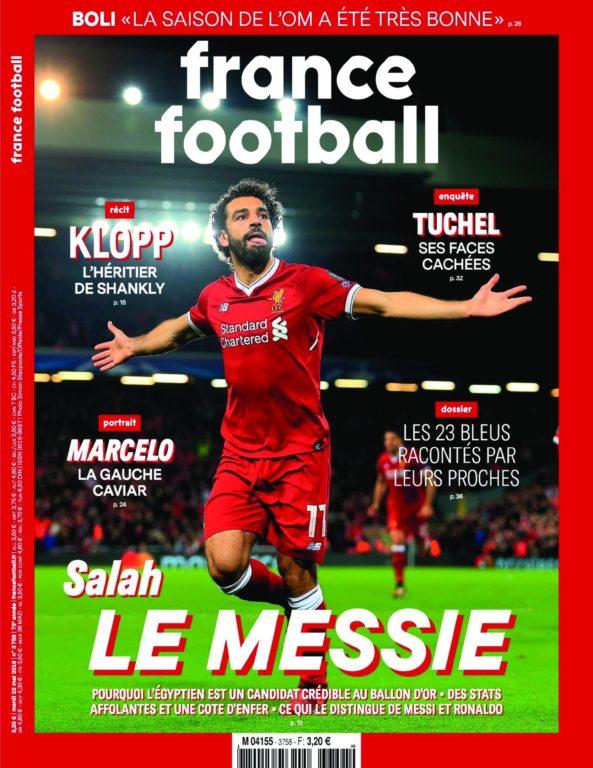 France Football – 22 Mai 2018