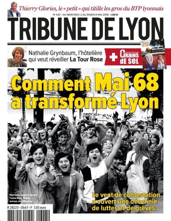 Tribune De Lyon – 03 Mai 2018