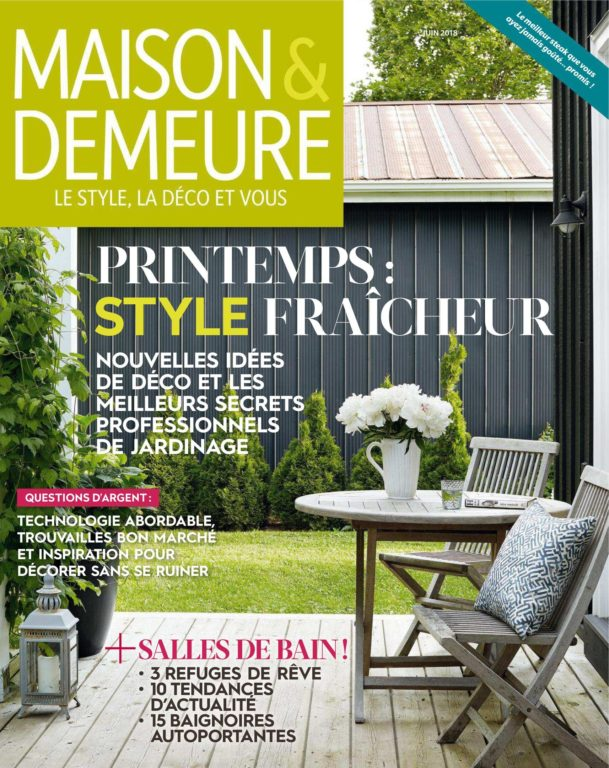 Maison & Demeure – Juin 2018