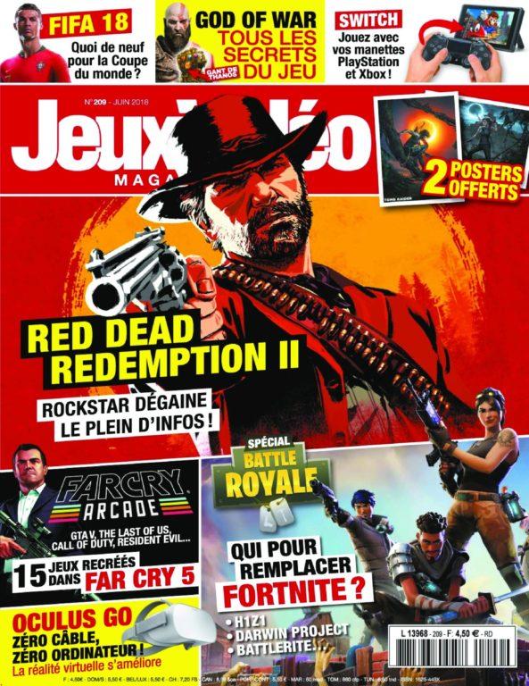 Jeux Vidéo Magazine – Mai 2018