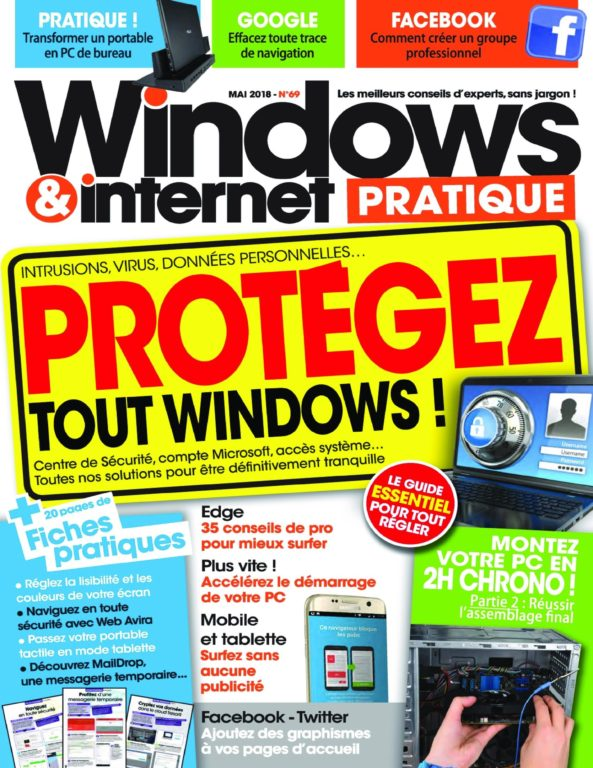 Windows & Internet Pratique – Juin 2018