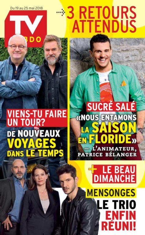 TV Hebdo – 19 Mai 2018