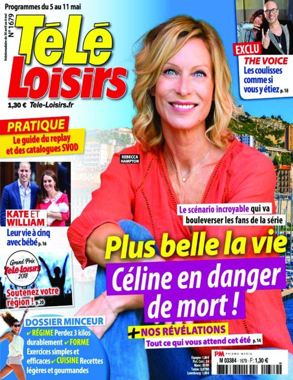 Télé Loisirs – 30 Avril 2018