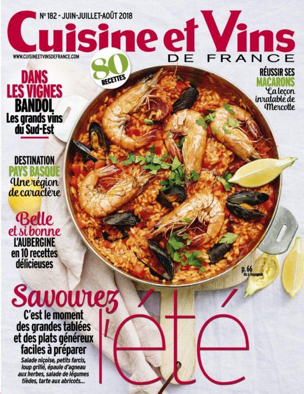 Cuisine Et Vins De France Hors-Série – Mai 2018