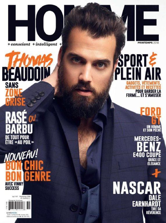 Homme Magazine – Printemps 2018