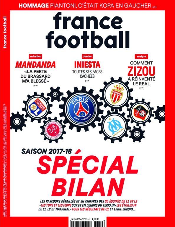 France Football – 29 Mai 2018