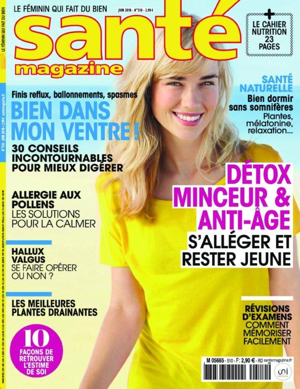 Santé Magazine – Juin 2018