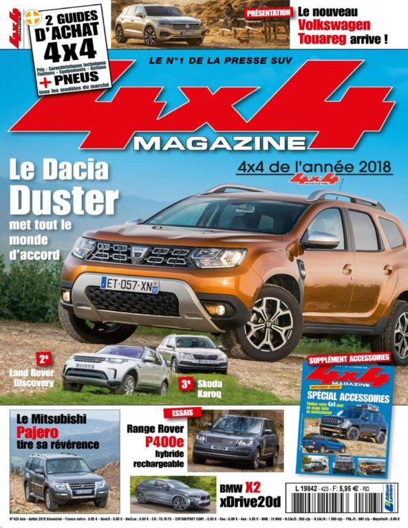 4×4 Magazine France – Juin-juillet 2018