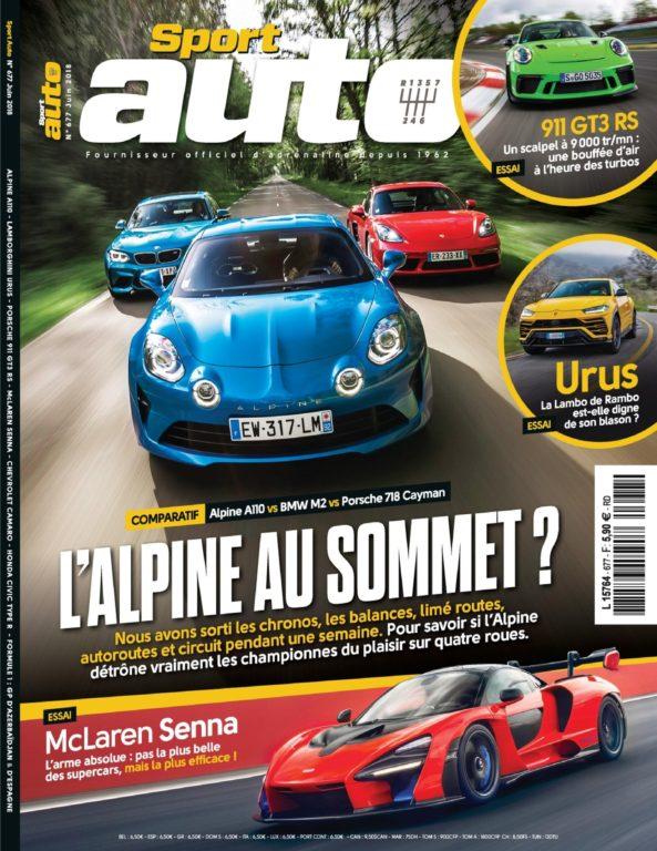 Sport Auto – 25 Mai 2018