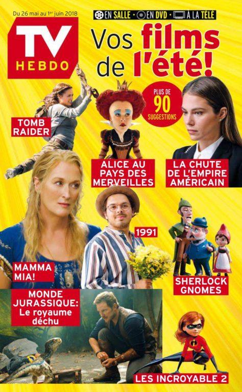 TV Hebdo – 26 Mai 2018