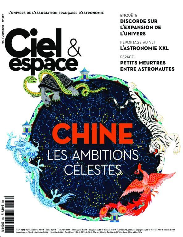 Ciel & Espace – Mai-juin 2018