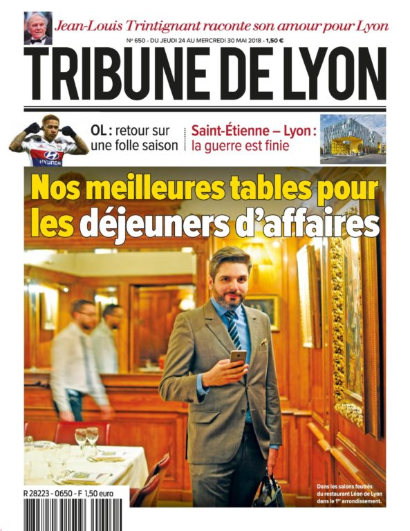 Tribune De Lyon – 24 Mai 2018