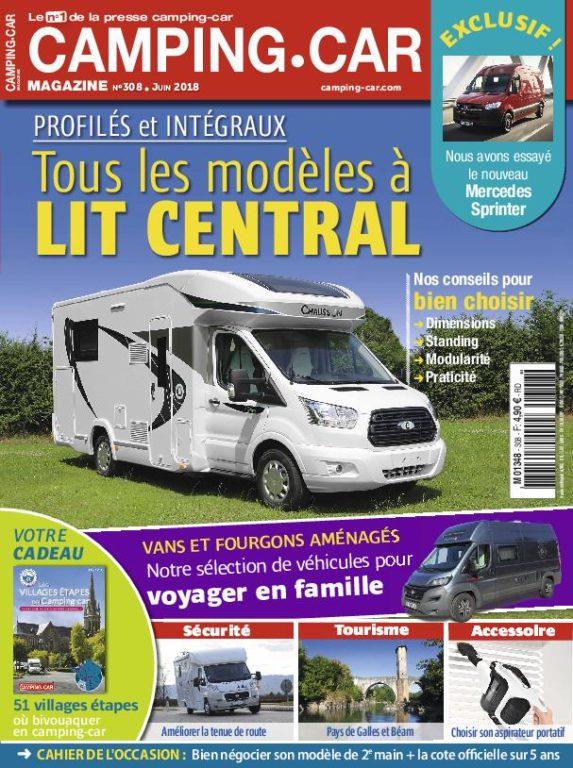 Camping-Car Magazine – Juin 2018