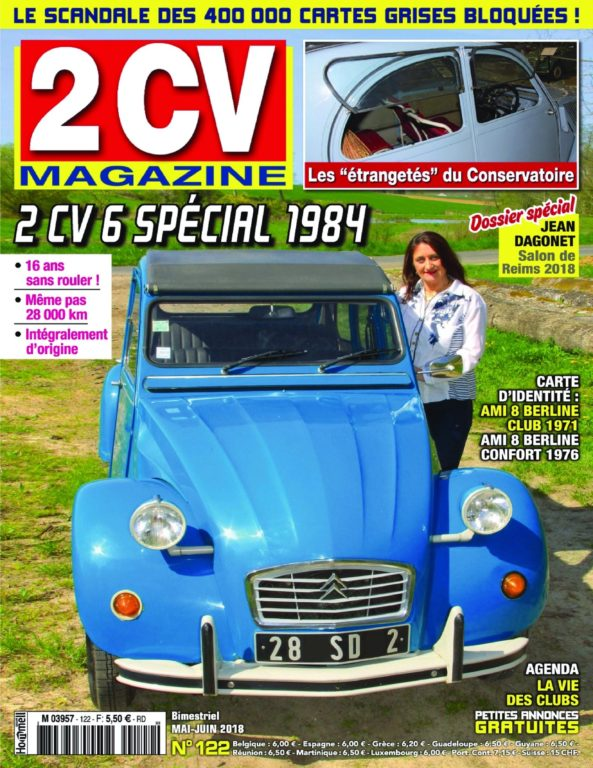 2 CV Magazine – Mai 2018