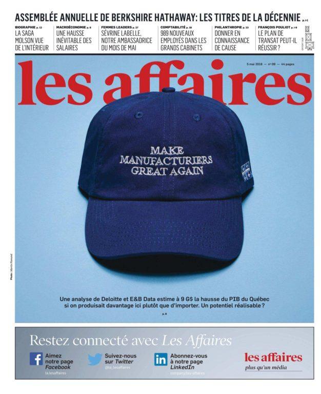 Les Affaires – 05 Mai 2018