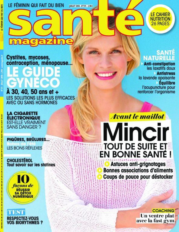 Santé Magazine – Juillet 2018