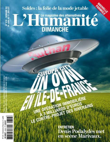 L'Humanité Dimanche – 28 Juin 2018