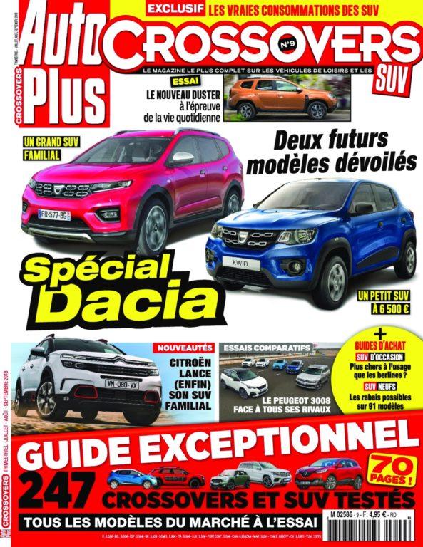 Auto Plus Hors-Série Crossovers – Juin 2018