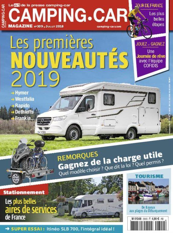 Camping-Car Magazine – Juillet 2018