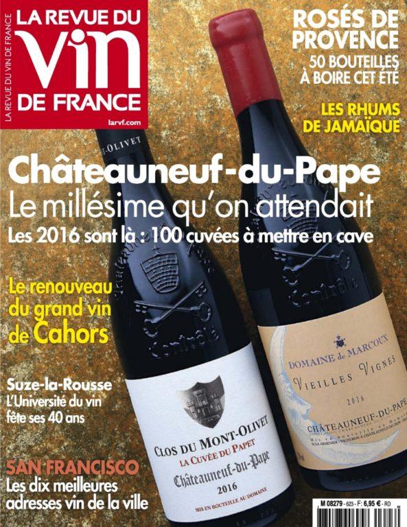 La Revue Du Vin De France – Juillet 2018