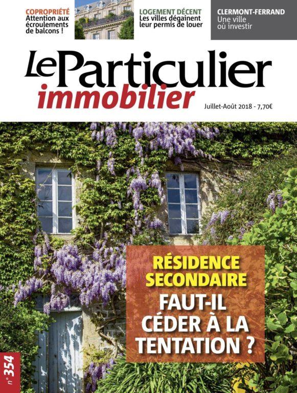 Le Particulier Immobilier – Juillet-Août 2018