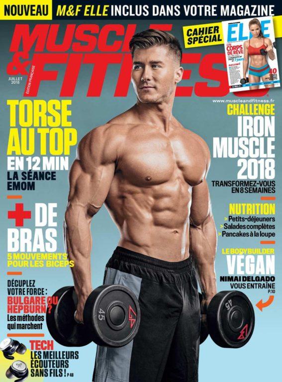 Muscle & Fitness France – Juillet 2018