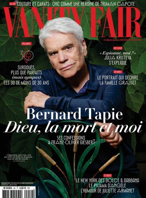 Vanity Fair France – Juillet 2018