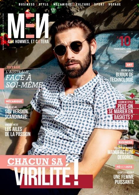 Men Magazine – Printemps-Été 2018