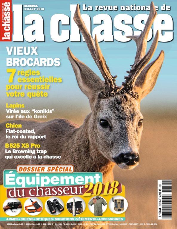 La Revue Nationale De La Chasse – Juillet 2018