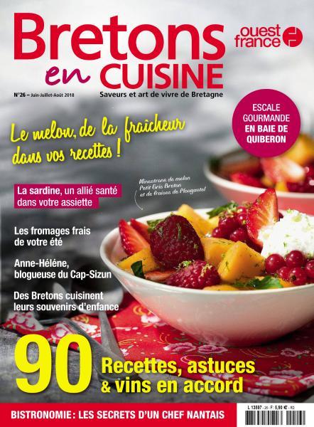 Bretons En Cuisine – Juin-Août 2018