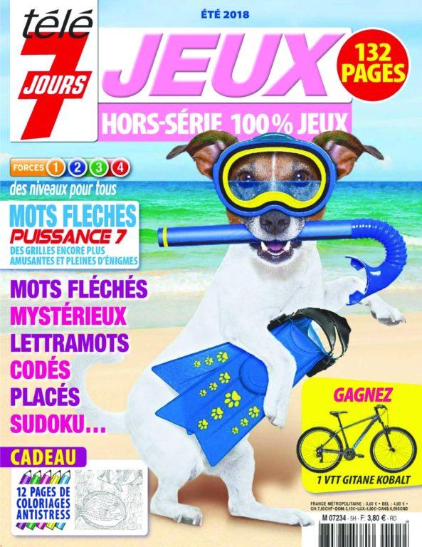 Télé 7 Jours Jeux ! Hors-Série – Juin 2018