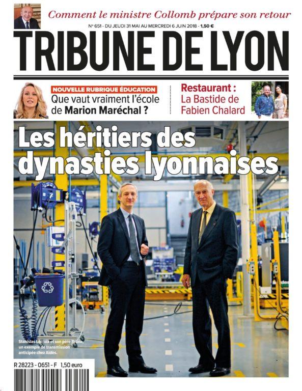 Tribune De Lyon – 31 Mai 2018