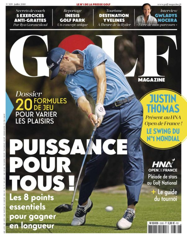 Golf Magazine France – Juillet 2018