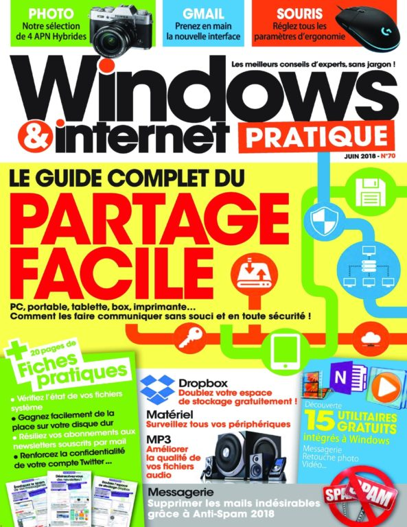 Windows & Internet Pratique – Juillet 2018