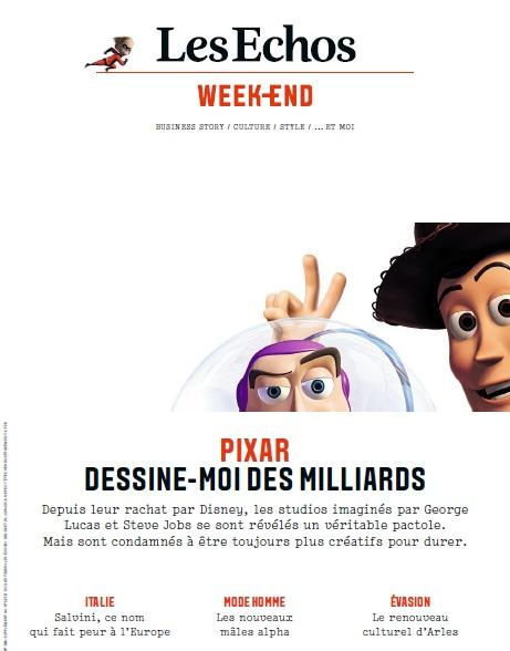 Les Echos Week-end – Vendredi 29 Juin 2018
